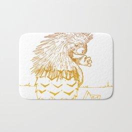 porcupineapple Bath Mat