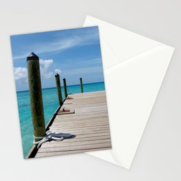 Grand Turk Pier Stationery Cards