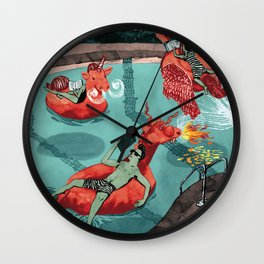Fairytale Endings Wall Clock