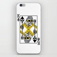 Dead King Card iPhone & iPod Skin