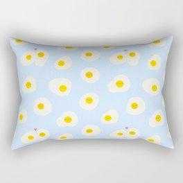 Eggs in love Rectangular Pillow