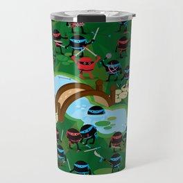 Ninja War Travel Mug