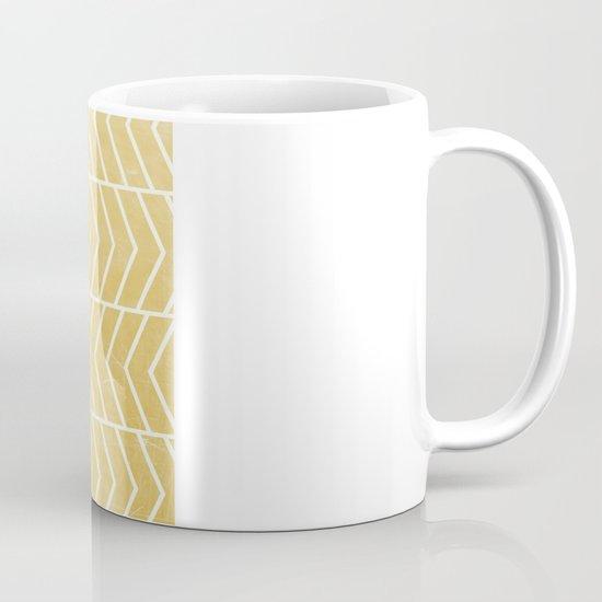 Yellow Chevron Mug