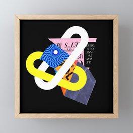 Lock 1/21/19 Framed Mini Art Print