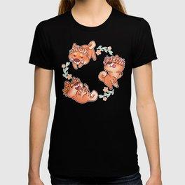Flower Doges T-shirt