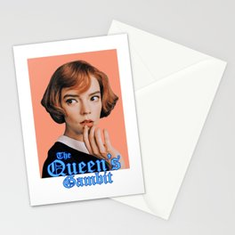 the queen's gambit series Stationery Cards