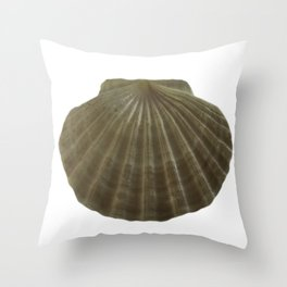 Scallop Shell Throw Pillow
