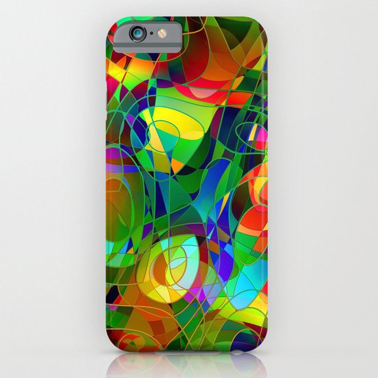 Bouquet Abstract iPhone & iPod Case