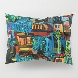 Favela Hillside, Rio de Janeiro by Emiliano di Cavalcanti Pillow Sham