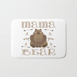Autism Mama Bear Autistic Child Awareness Day Gift Bath Mat