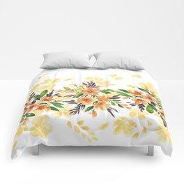 """Floral bouquet """"Felicity"""" Comforters"""
