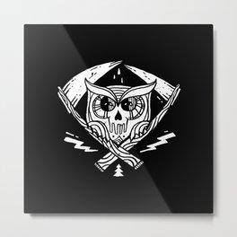 Death Watcher Metal Print