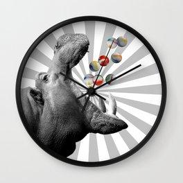 Hungry Hippo Wall Clock