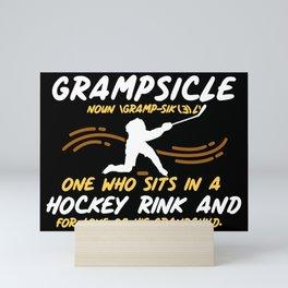 Grampsicle Definition Mini Art Print