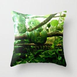 //greens Throw Pillow