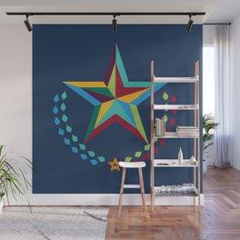 Preppy Star Wall Mural