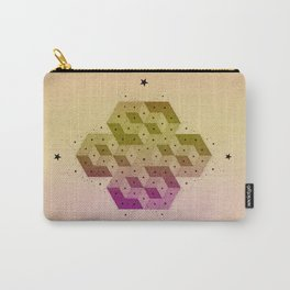Cubic Totems Carry-All Pouch