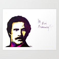 Ronnie B Art Print