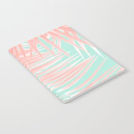 Palm Leaves Summer Vibes #9 #tropical #decor #art #society6 Notebook