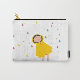 girl in the rain Carry-All Pouch
