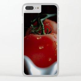 Tomato kitchen Still life Clear iPhone Case