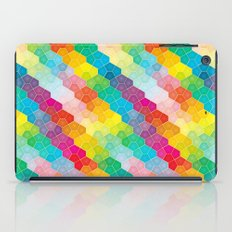 Jewel polygon pattern iPad Case