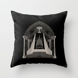 Throne Room Throw Pillow