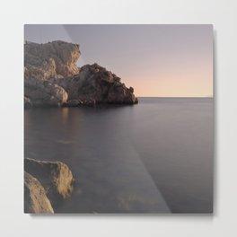 """""""Serenity"""". Sea at sunset Metal Print"""