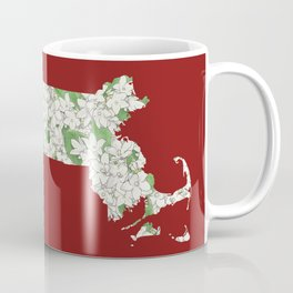 Massachusetts in Flowers Coffee Mug