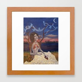 The Clairvoyant Framed Art Print