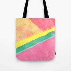 Twisted Melon Tote Bag