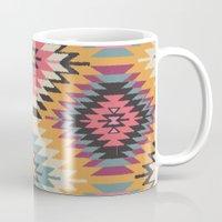 navajo Mugs featuring Navajo Dreams by Bohemian Gypsy Jane