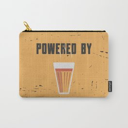 Funny Powered By Chai Tea Quote Carry-All Pouch