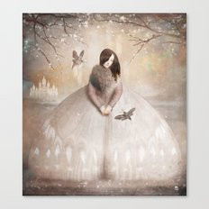 Moth Princess Canvas Print