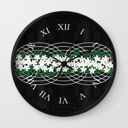 Wicker Basket Wall Clock