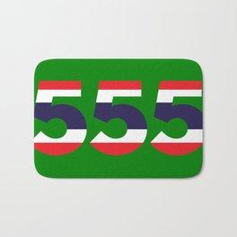 555  Thai flag Bath Mat