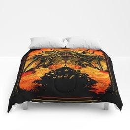 Winged God Monster Comforters