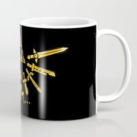 triforce Mugs featuring Triforce Z by le.duc