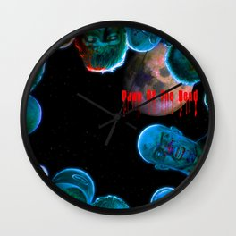 Dawn Of The Dead Tribute Wall Clock
