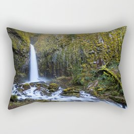 Dry Creek Falls Rectangular Pillow