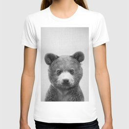Baby Bear - Black & White T-shirt