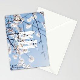 Travel Light, Live Light, Spread The Light, Be The Light Stationery Cards