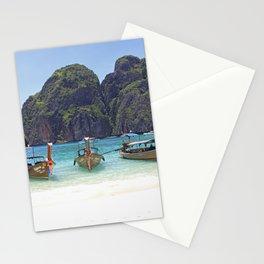 Maya Bay, Phi Phi Island Leh, Thailand Stationery Cards