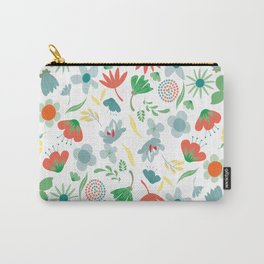 Floral Awakeness Carry-All Pouch