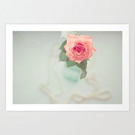 Fleur De L'amour Art Print