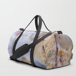 Cracked marble agate 4934 Duffle Bag