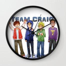 Team Craig Wall Clock