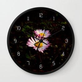 Bellis Perennis #2 Wall Clock