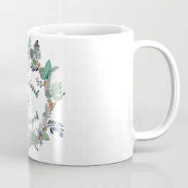 Trust in Jehovah and Do What is Good Wreath Coffee Mug