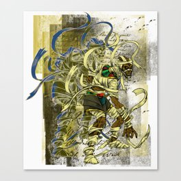 Mummy Stoned Canvas Print